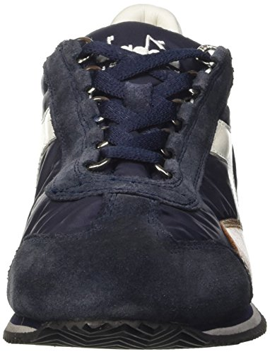– Equipe Denim Scarpe Nyl Blu Waxed Blue SW Adulto Top Low Unisex Diadora qxO8fO