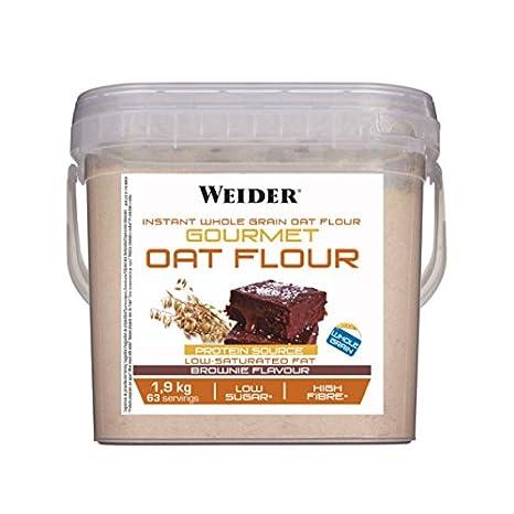 Weider Gourmet Oat Flour sabor Brownie - 1,9 Kg: Amazon.es: Alimentación y bebidas