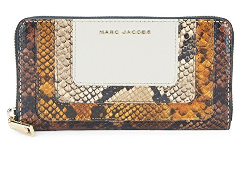 Marc Jacobs Women's Standard Continental Wallet, Parchment Multi, One Size by Marc Jacobs