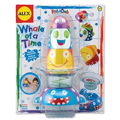 Alex Toys Whale Of A Time Rubadub Bath Toy by Alex