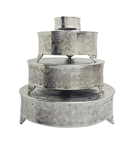 Wedding Cake Stand Set - GiftBay Cake Stand Round Set of 22, 18
