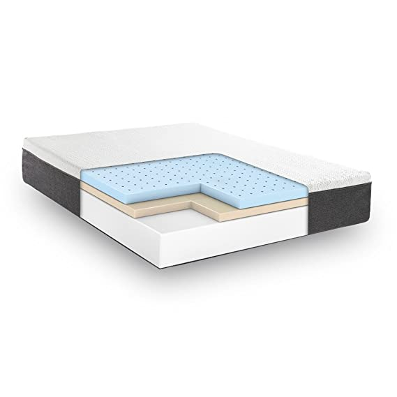 Classic Brands Cool Gel and Ventilated Memory Foam 12 Inch Mattress