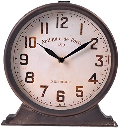NIKKY HOME Antique Mantel Clock