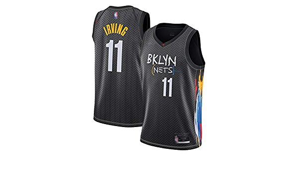 Kyrie Irving Mens Jersey Brooklyn Nets # 11, 2020/21 Fan ...