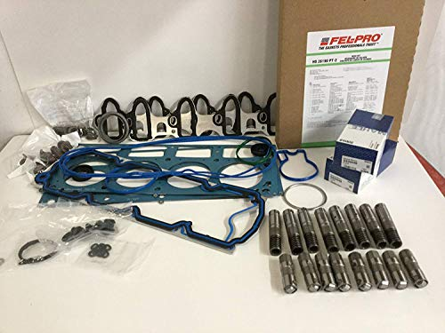 FEL-PRO Head Gasket Set+Bolts+AFM DOD Lifters+ Trays Kit compatible with 2005-11 Chevy GMC 5.3 5.3L ()
