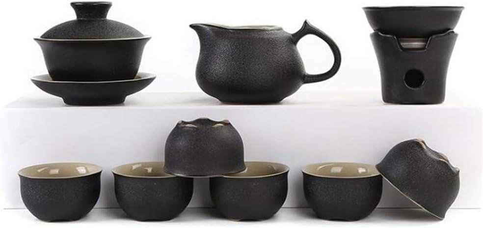 Wtbew-u Juego De Té De Cerámica De Kung Fu, Tetera De Porcelana China Vintage, Oficina/Hogar/Regalos De Empresa: Amazon.es: Hogar