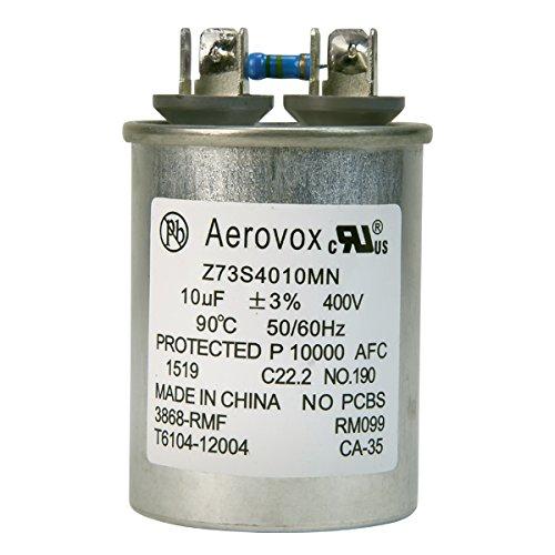 Aerovox - 175 Watt - Oil Filled Capacitor - Metal Halide M57 - 10uF - 400VAC - Z73S4010MN -
