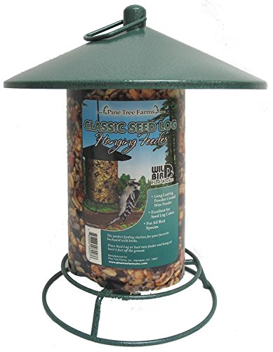 Pine Tree 8007 Classic Seed Log Feeder (Cylinder Bird Feeder)