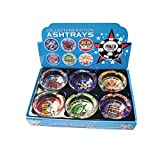 Ashtray Glass Poker , Case of 48