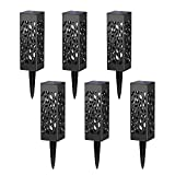 Solar pathway lights outdoor + Weather-resistant lights + LED lights, Solar garden lights or Yard lights or Patio Lights or Driveway Lights (8 pcs in package)