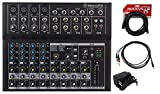 Mackie Mix12FX 12-Channel Compact Mixer W/FX Proven Performance +...