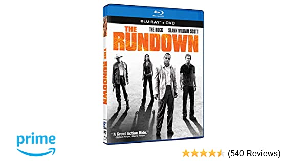 Amazon com: The Rundown [Blu-ray]: Dwayne