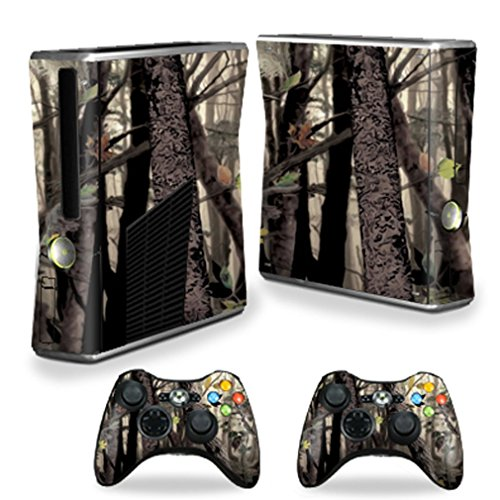 SignMission Skin for X-box 360 Xbox 360 S Console, Tree Camo, Protective, Durable, and Unique Vinyl Decal Wrap Cover, 0.01 Pound ()