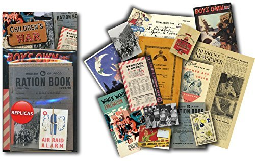 Children's War. World War 2 Replica Memorabilia Pack. Contains Replica Period Items (mp)