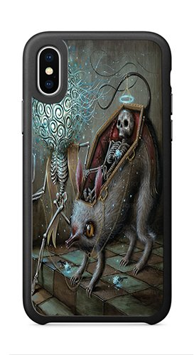AOFFLY Case for Apple iPhone X 5.8 Inch Only - Jason Limon - No Mans Land - Shock Absorption Protection Phone Cover Case