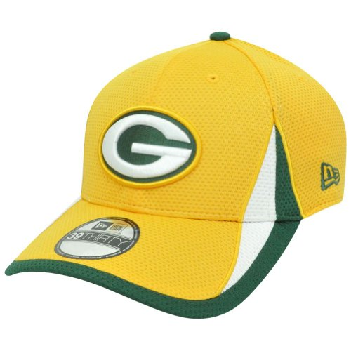 NFL Green Bay Packers Reverse Team Color Training 39THIRTY Cap, Small