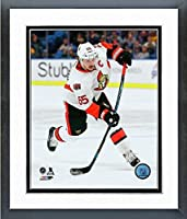 "Erik Karlsson Ottawa Senators 2016-17 NHL Action Photo (Size: 12.5"" x 15.5"") Framed"
