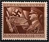 STRIKING ORIGINAL NAZI STAMP w FLAG and