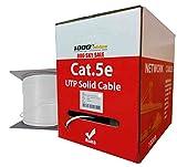 1000FTCables Cat5e Plenum 1000FT Bulk CMP 350MHz UTP Ethernet Network Cable