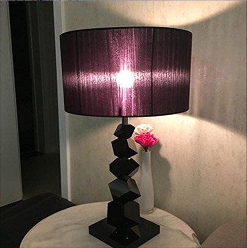 lampara mesa Dormitorio Lámpara de mesa de cristal Sala de estar ...
