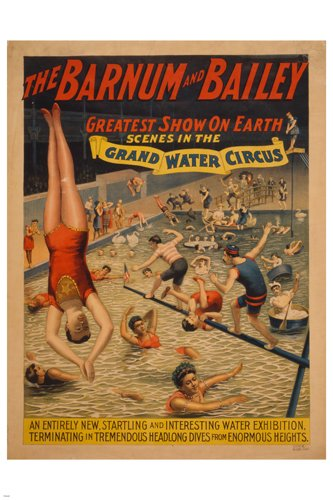 THE BARNUM & BAILEY vintage circus poster 24X36 CLASSIC ERA ()