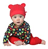 Zutano Infant Unisex-Baby Fleece Hat, Apple, 6 Months