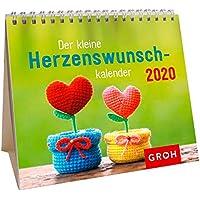 Der kleine Herzenswunschkalender 2020: Mini-Monatskalender