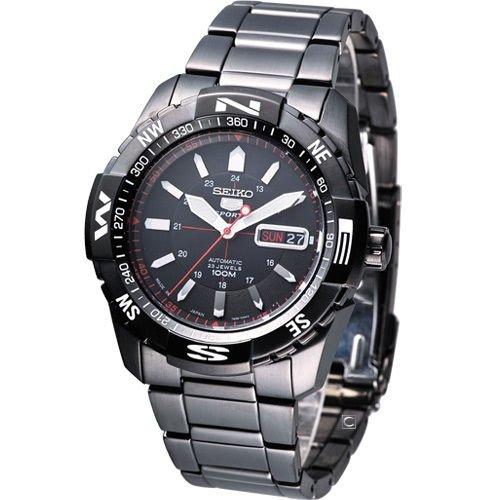 Dive Watch Compass (Seiko Men JAPAN 5 SPORTS 7S36 Sport SNZJ11 SNZJ11J1)