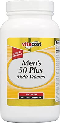 Vitacost Men's 50 Plus Multi Vitamin