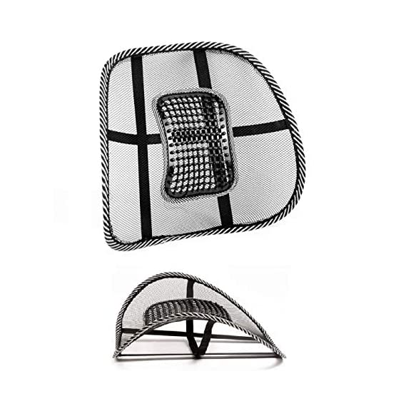 Emporium Car Back Pain Relief Lower Back Support for Chair Back Rest for Office Chair Lumbar Support Orthopedic Cushion