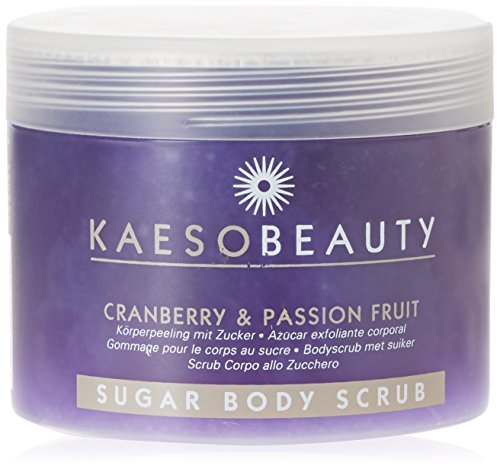 Kaeso Exfoliating Body Scrub, Cranberry and Passion Fruit Sugar 450 ml by - Scrub Cranberry Body