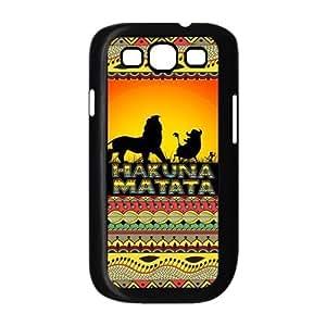 LeonardCustom- The Lion King Hakuna Matata Hard Case for Samsung Galaxy S3 SIII i9300 -LCS3U427