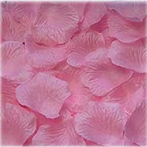 1000pcs Light pink Silk Rose Petals Bouquet Artificial Flower Wedding Party Aisle Decor Tabl Scatters Confett 2