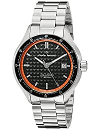 Claude Bernard Men's 70166 3M NO Analog Display Swiss Quartz Silver Watch