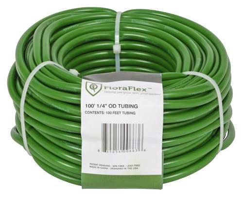 FloraFlex Tubing - 1/4-Inch OD (3/16-Inch ID) x 100-Foot