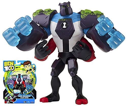 Poseable Arms - Omni Enhanced Four Arms Cartoon Network Ben 10 Poseable Action Figure 5