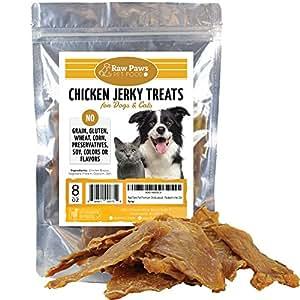 Amazon.com : Raw Paws Pet Food Premium Chicken Jerky