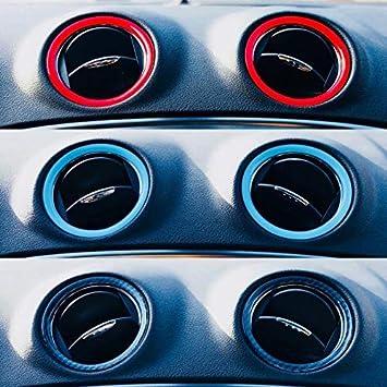 Farbige L/üftungsringe Mondeo MK4 und Fiesta Carbon