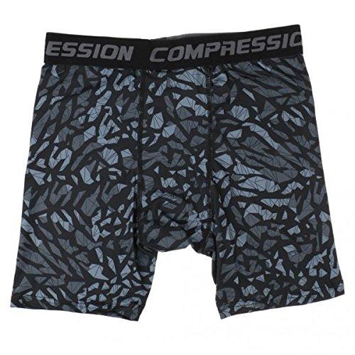 私たち厚い同一性ノーブランド品 2枚 メンズ 弾性 吸汗 通気性 フィットネス タイツ ランニング コンプレッションショーツ ハーフパンツ 全3色3サイズ - #3, M