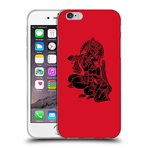 GoGoMobile Coque de Protection TPU Silicone Case pour // Q08140624 Hindou 5 Cadmium Rouge // Apple iPhone 6 4.7""