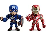Metals Marvel 4 inch Movie Twin Pack - Captain America & Ironman (M51)