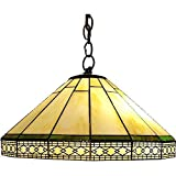 Whse of Tiffany P16257 Tiffany-Style Roman Hanging Lamp
