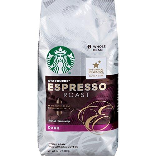 Starbucks Espresso Roast, Whole Bean-12 oz (Whole Bean Espresso Starbucks compare prices)