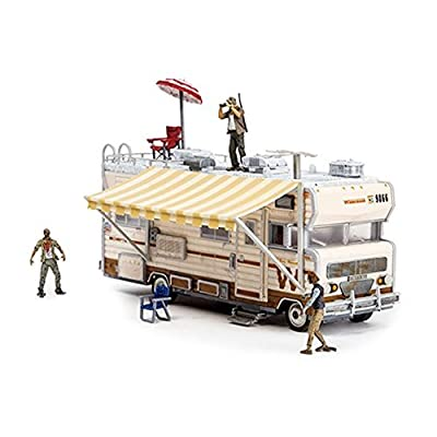 McFarlane Toys Construction Sets- The Walking Dead TV Dale's RV Set: Toys & Games