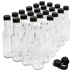 NiceBottles - Hot Sauce Bottles, 5 Oz - 24 Pack