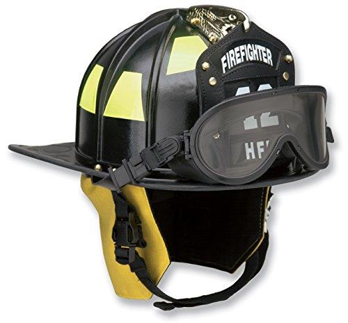 Honeywell First Responder Ben Franklin 2 Plus Fire Helmet with Faceshield, Yellow ()