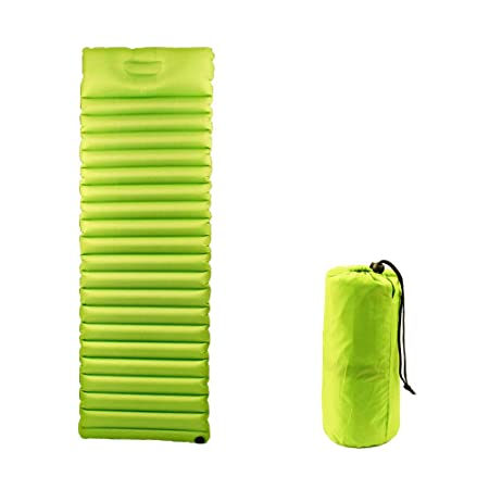 FRITHDAIL Ultralight Camping Mattress- Inflatable Sleeping Mat for Hiking,Backpacking,4.0 R-Value Lightweight Inflatable Mattress,3-inch Thick Mattress,Insulation for Cold Weather