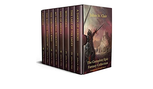 The Complete Epic Fantasy Collection (8 novels in one box set!)