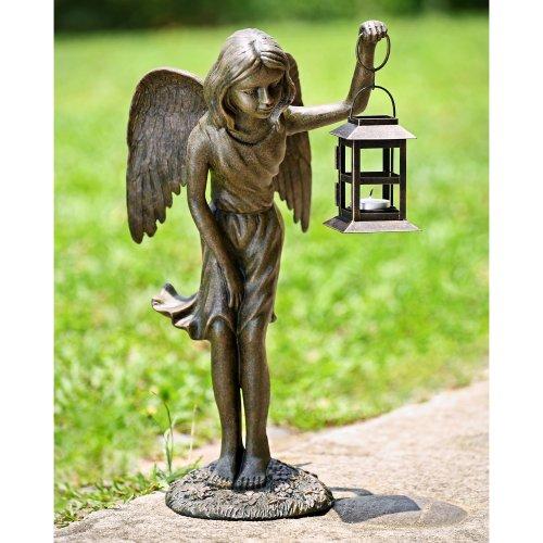 SPI Home 33604 Angel Girl Garden Lantern