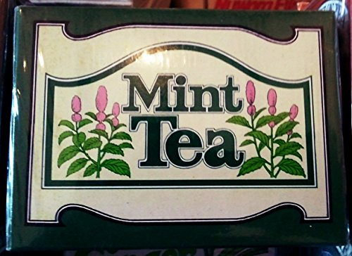 Sri Lanka Ceylon Mlesna Flavored Tea 20 TEA BAGS x 4 (Mint)